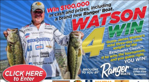 James Watson Promotion for the Bassmaster Classic